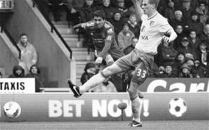 Луис Суарес в матче против «Норвич Сити» (c) Telegraph