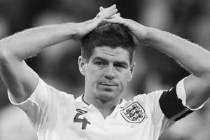 Стивен Джеррард после матча против итальянцев (c) Sky Sports