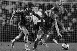 Брэд Смит в матче против «Челси» (c) Liverpool Echo