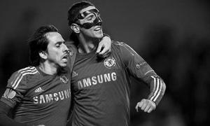 Йосси Бенаюн и Фернандо Торрес в форме «Челси»
