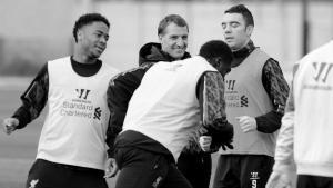 «Ливерпуль» на тренировке (c) LiverpoolFC.com