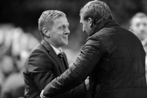 Брендан Роджерс и Гарри Монк (c) Liverpool Echo