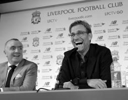 Иан Эйр и Юрген Клопп (с) Liverpool Echo