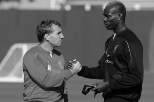 Брендан Роджерс и Марио Балотелли (c) Liverpool Echo