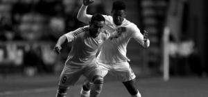 Джо Гомес в матче против Казахстана (c) Liverpool Echo