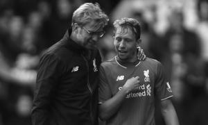 Юрген Клопп и Лукас Лейва (c) LiverpoolFC.com