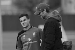 Филиппе Коутиньо и Юрген Клопп (с) LiverpoolFC.com