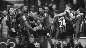 Игроки «Борнмута» празднуют гол (c) Sky Sports
