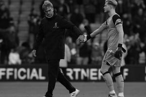 Юрген Клопп и Лорис Кариус (c) John Powell / Liverpool FC