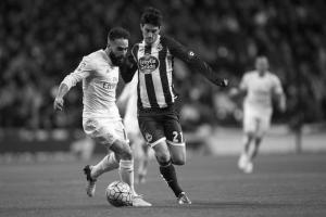 Луис Альберто в матче против «Реала» (c) AFP/Getty