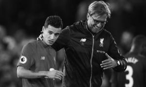 Филиппе Коутиньо и Юрген Клопп (c) LiverpoolFC.com