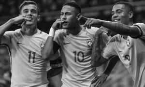 Филиппе Коутиньо в сборной Бразилии (c) LiverpoolFC.com