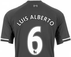 Номер Луиса Альберто (с) liverpoolfc.com