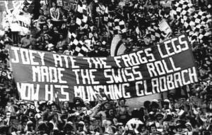 Баннер в честь Джои Джонса