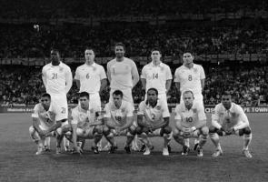 Фотография игроков сборной Англии