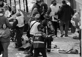 Взрывы в Бостоне (c) Associated Press