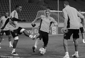 Дэниел Старридж и Фернандо Торрес в составе «Челси» (c) Action Images