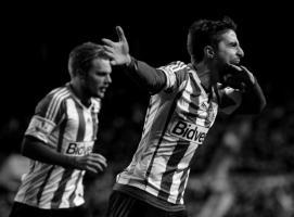 Фабио Борини празднует гол в ворота «МЮ» (c) TalkSport