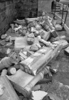 Баллюстрада Мемориала «Хиллсборо», разрушенная вандалами (c) Liverpool Echo