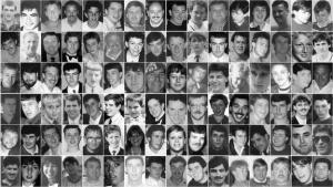Жертвы трагедии на «Хиллсборо»