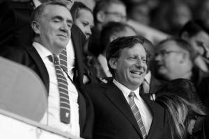 Иан Эйр и Том Вернер (c) Liverpool Echo