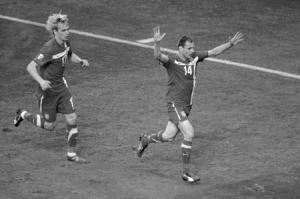 Фотография игроков сборной Сербии