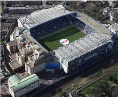 Фото стадиона Стэмфорд Бридж (c) LiverBird.ru